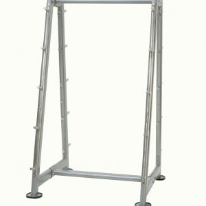 Tray for 10 barbells, gray
