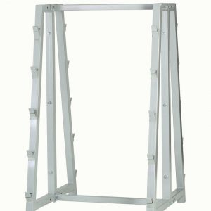 Storage barbell stand 10 slots RAL 9006