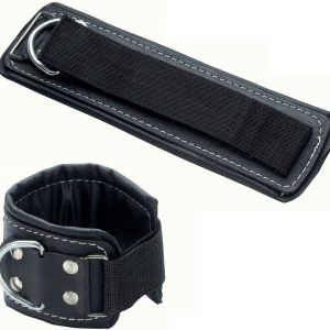 Leather foot strap with Velcro